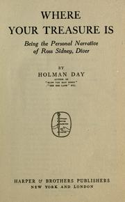 Where your treasure is by Holman Day