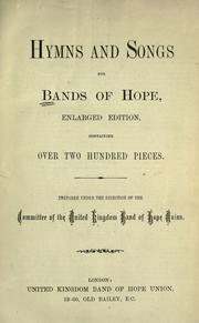 Hymns and songs for Bands of Hope PDF