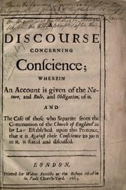 A discourse concerning conscience by Sharp, John