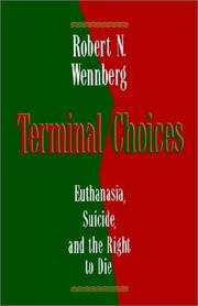 Terminal choices by Robert N. Wennberg