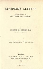 Riverside letters PDF