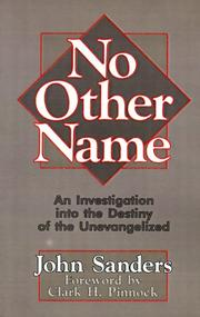 No other name by Sanders, John