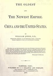 The oldest and the newest empire by William Speer
