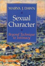 Sexual character by Marva J. Dawn