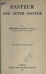 Pasteur and after Pasteur PDF