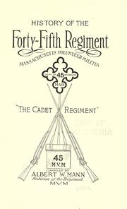History of the Forty-fifth regiment PDF