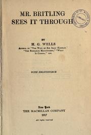 Mr. Britling Sees It Through PDF