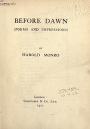 Before dawn PDF