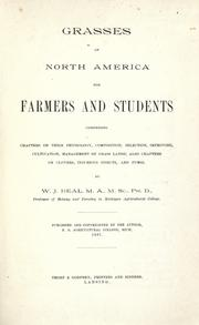 Grasses of North America by W. J. Beal