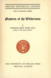 Masters of the wilderness by Charles B. Reed