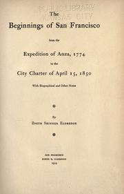 The beginnings of San Francisco PDF