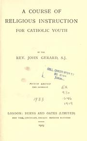 A course of religious instruction for Catholic youth PDF