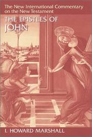 Epistles of John (New International Commentary on New Test)