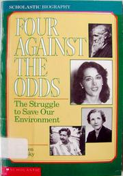 Four Against the Odds by Stephen Krensky