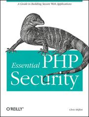 Essential PHP security PDF