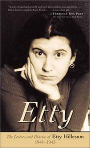 Etty by Etty Hillesum