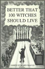 Better that 100 witches should live PDF