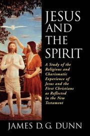 Jesus and the Spirit PDF