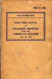 Unarmed Defense For The American Soldier PDF