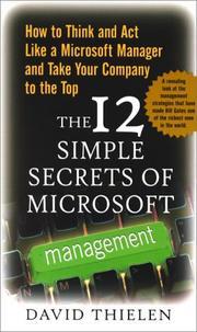 The 12 Simple Secrets of Microsoft Management PDF
