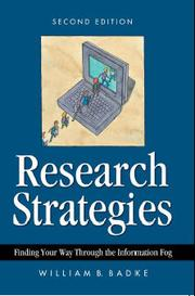 Research Strategies by William B. Badke