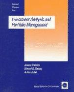Investment analysis and portfolio management by Jerome Bernard Cohen