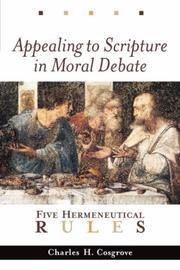 Appealing to Scripture in Moral Debate PDF