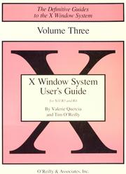 X Window System user&#39;s guide by Valerie Quercia