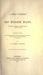 Select Collection of Old English Plays PDF