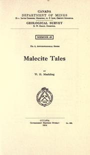 Malecite tales PDF