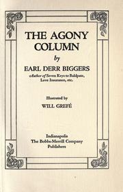 The Agony Column PDF