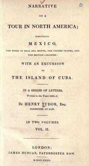 Narrative of a tour in North America PDF