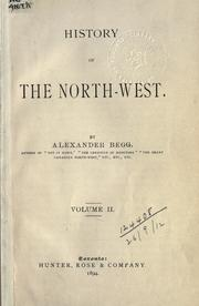 History of the North-West PDF