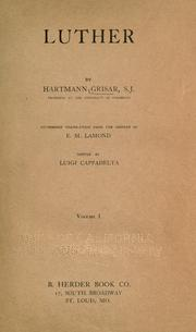 Luther by Hartmann Grisar