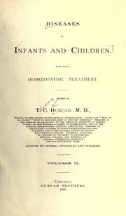 Diseases of infants and children by T. C. Duncan