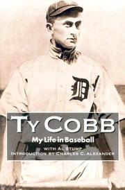 My life in baseball by Cobb, Ty
