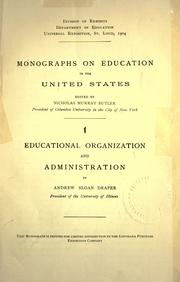 Monographs on education in the United States PDF