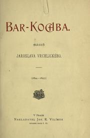 Bar-Kochba by Jaroslav Vrchlick
