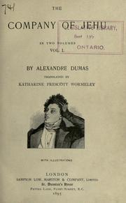 Les compagnons de Jhu by Alexandre Dumas (pre)