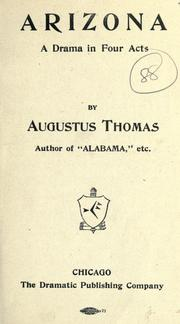 Arizona by Augustus Thomas