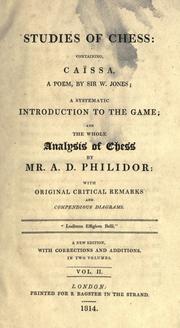 Studies of chess PDF