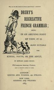 Drury's Recreative French grammar PDF