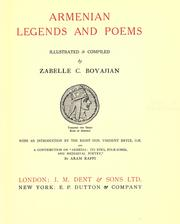 Armenian legends and poems by Zabelle C. Boyajian