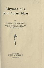 Rhymes of a Red Cross man PDF
