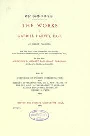 The works of Gabriel Harvey PDF