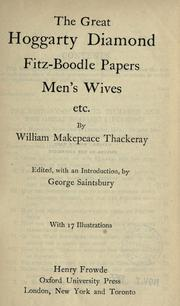 Cover of: Works by William Makepeace Thackeray
