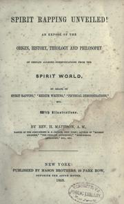 Spirit rapping unveiled! PDF