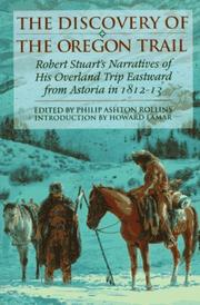 The discovery of the Oregon trail by Stuart, Robert