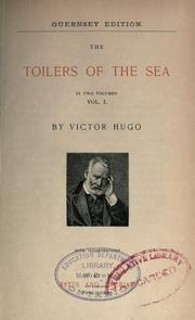 Travailleurs de la mer by Victor Hugo