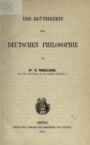 Die geschichte der neueren philosophie in ihrem zusammenhange mit der allgemeinen kultur und den besonderen wissenschaften PDF